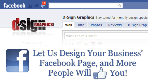 Facebook Business Page Design &#8211; Social Media Marketing