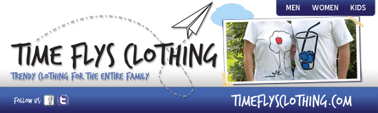 Time Flys Clothing Custom Banner - Print and Design