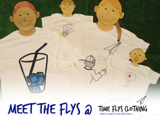 Time Flys Clothing - Meet the Flys T-Shirts