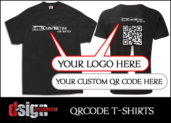 Custom QR Code T-Shirts