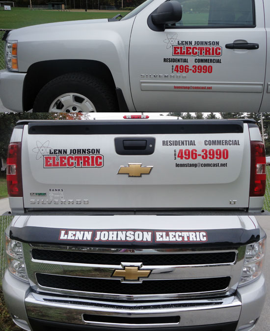Lenn Johnson Electric - Custom Vinyl Vehicle Graphics