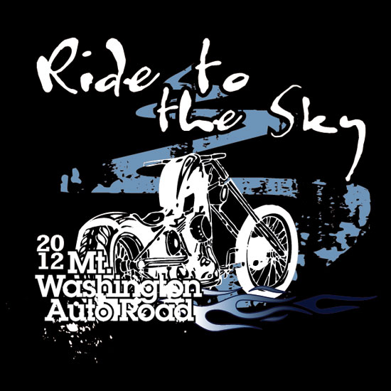 nh t-shirt designer - ride to the sky