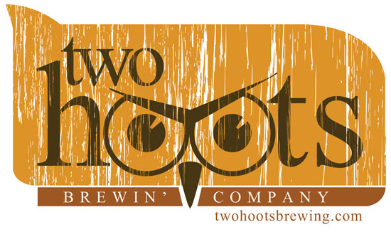 Two Hoots Brewing Company Custom Logo Design