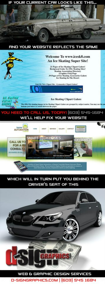 Turn Your Old Website Into a New Car