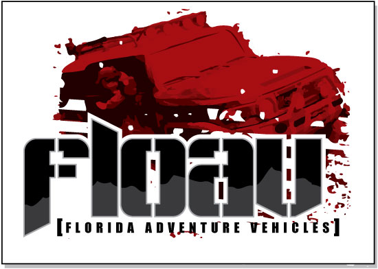 Florida Adventure Vehicles - Custom Logo Design